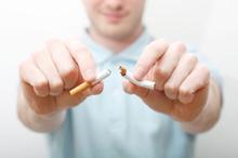 Иглоуккалывание при курении.